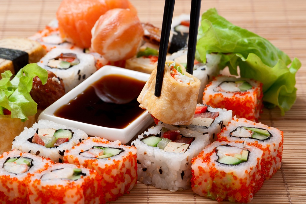Японская кухня по-украински.